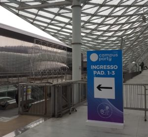 Ingresso del Campus Party 2018