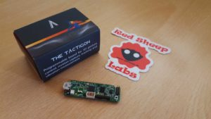 Bluetooth Low Energy tra Raspberry Pi 3 e The Tactigon